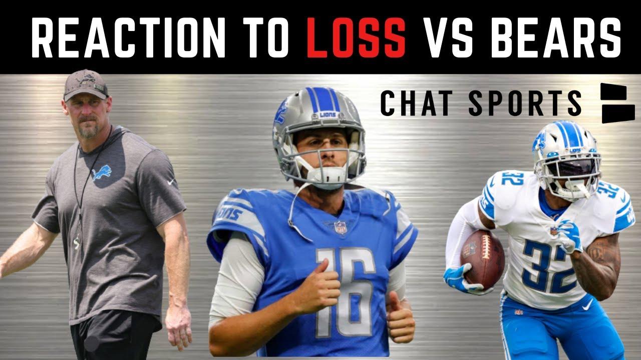 Lions vs. Bears, Week 4: What just happened?