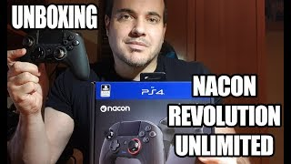 Unboxing del Nacon Revolution Unlimited Pro - El mejor mando profesional para PS4