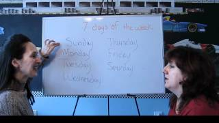 Lesson 41 - Days of the Week - Learn English with Jennifer