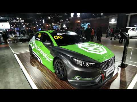 2020 MG XPower Racing Car Walkaround Auto Expo