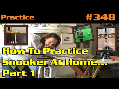 How To Practice Snooker At Home... Part 1