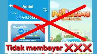 Terjawab sudah!! game yang viral perfect 2048 tidak membayar gaesss ❌❌❌❌❌ screenshot 2