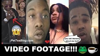 Offset Caught Cheating on Cardi B & Her Ex TOMMY gets Refollowed 💔👀 (Video Footage)