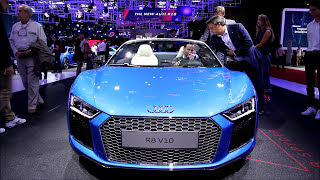 Mundial do Automóvel - Mondial de l'automobile - Paris - Audi, Lexus