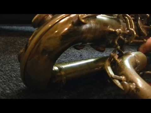 "Repairman's Overview:  1933 Conn 12M ""Transitional"" Baritone Saxophone"