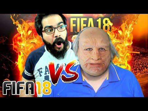 فيفا 18- تحدي الأسئلة المحرجة علي المرجاني وجدو الشايب / طلعت الفضايح FIFA 18