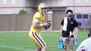2021 LSU Football Spring Practice #7
