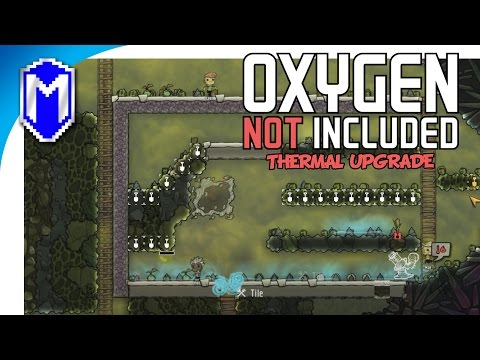 Give Me That Dirty Contaminated Water - Oxygen Not Included Thermal Upgrade Preview Gameplay Part 4