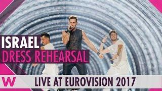 Israel Imri Ziv I Feel Alive Semi Final 2 Dress Rehearsal Eurovision 2017
