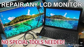 How to Repair Any LCD Monitor or LED TV in 30 minutes!