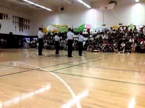 Hiram Johnson Highschool Rally Drill Team CA-811