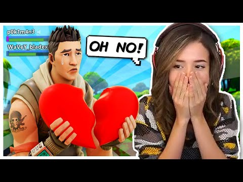 Pokimane Breaks 11 YR OLDS Heart In Fortnite Random Duos?!