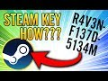 How to Redeem Code on Steam - Unlock a Game Key