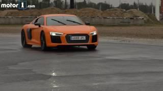 Audi R8 2017 5.2 FSI V10 Plus de 610 CV, prueba en circuito