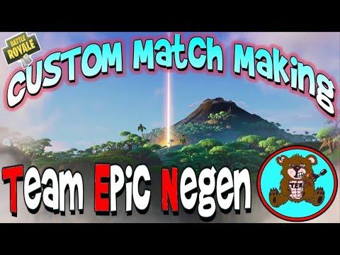 live custom matchmaking keys