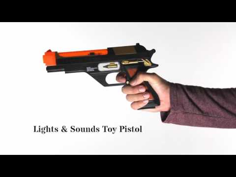 Lights and Sounds Toy Pistol