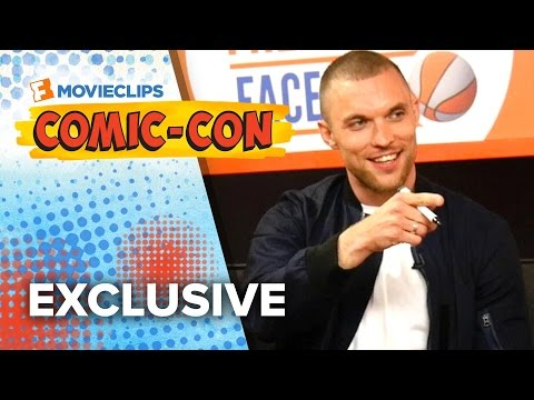 Never Have I Ever  Ed Skrein & Gina Carano  ComicCon 2015 HD