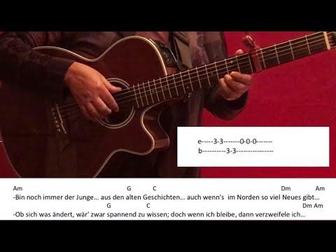 Frische Luft - Wincent Weiss / Gitarre/Guitar/Tutorial/Cover/Chords/Lyrics/easy