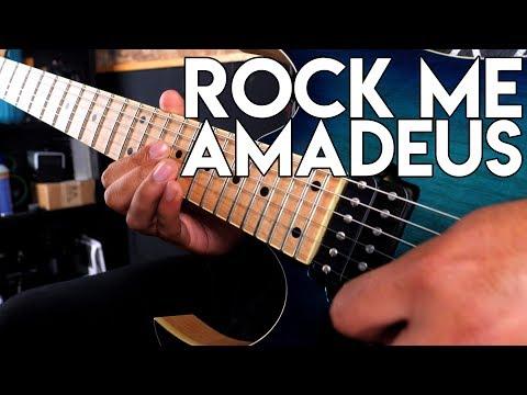 Twisting Life - Rock Me Amadeus (Metal Cover - English Lyrics)| #SMGOldiesButBaddies Winner