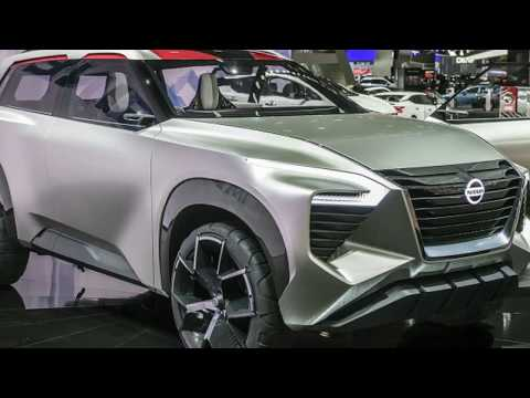Hot News !!! Nissan Xmotion,inspiration from a classical Japanese landscape