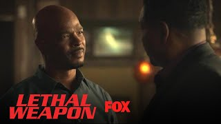 Roger Confronts Barnes About Cole's Whereabouts | Season 3 Ep. 7 | LETHAL WEAPON