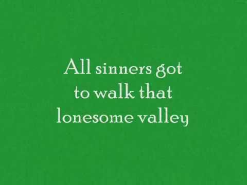 The Carter Family - Lonesome Valley