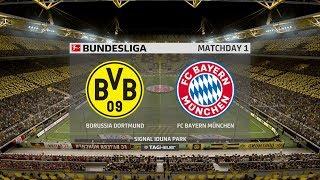 FIFA 19 | Dortmund vs Bayern Munich - Signal Iduna Park - (Full Gameplay Xbox One X)