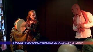 Yvelines | Évasion et gourmandises pour la nuit de la lecture à Élancourt