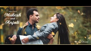Mukesh+Anjali |  wedding invitation teaser | THe Royal Photo Studio