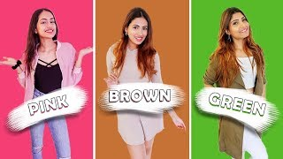 EATING ONLY ONE COLOURED FOOD FOR 24HRS!!   Aashna Hegde