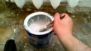 видео Как покрасить батарею отопления + какой краской лучше красить?