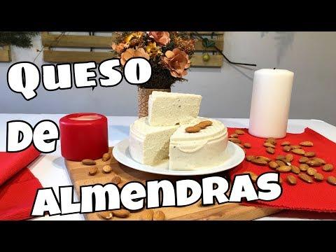 QUESO DE ALMENDRAS VEGANO/COMO SE PREPARA