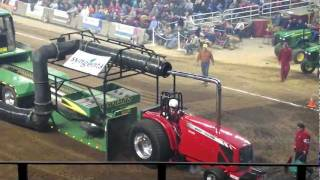 National Farm Machinery Show Tractor Pull 2012 - Louisville Kentucky