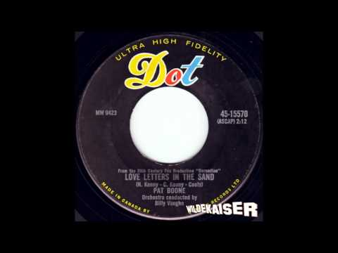 Pat Boone - Love Letters In The Sand