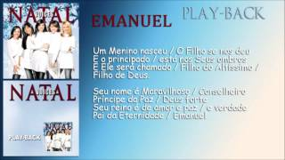 Emanuel [Playback] Grupo Voices - CD