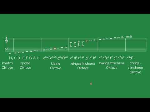Noten lesen (Notenschlüssel, Tonhöhe) | Musik | SchoolHelpDE