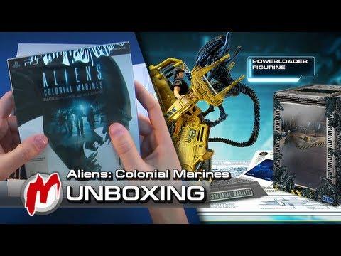 ❐ Aliens: Colonial Marines — Распаковка: Расширенное издание + коды
