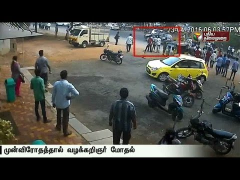 Five injured as lawyer drives inside a hotel in Madurai