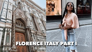 Gambar cover FLORENCE DAY 1: last morning in venice, airbnb tour, + exploring the city