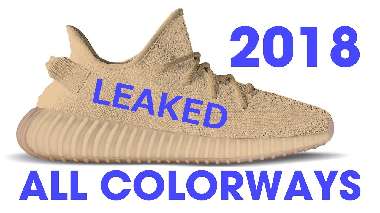 outlet store aee8d fd74b ALL 2018 YEEZY V2 COLORWAYS LEAKED
