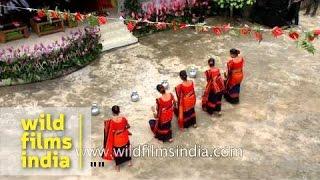 Chakma dance from Tripura - Anthurium festival, Mizoram