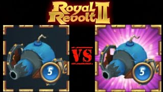 ROYAL REVOLT 2 - CANNON vs ELITE CANNON