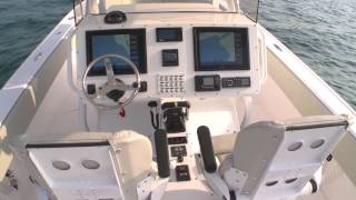 Intrepid 375 CC with Custom Shock Mitigating Seating and Helm