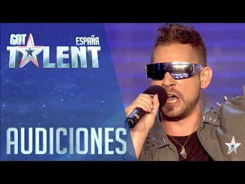 The singer who came from the future | Auditions 5 | Spain's Got Talent 2016