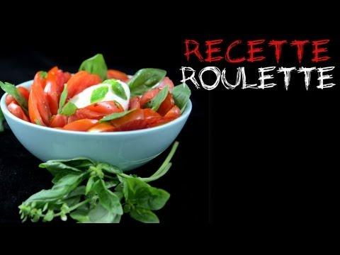 Recette : Salade tomates mozzarella !