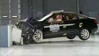 Crash Test 2005 - 2011  Audi  A6 (Frontal Impact) IIHS