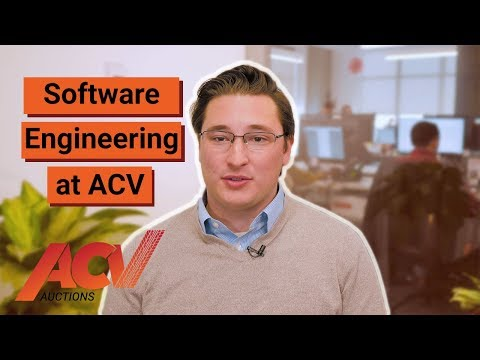 Software Engineering Work at ACV Auctions - Joe Peacock