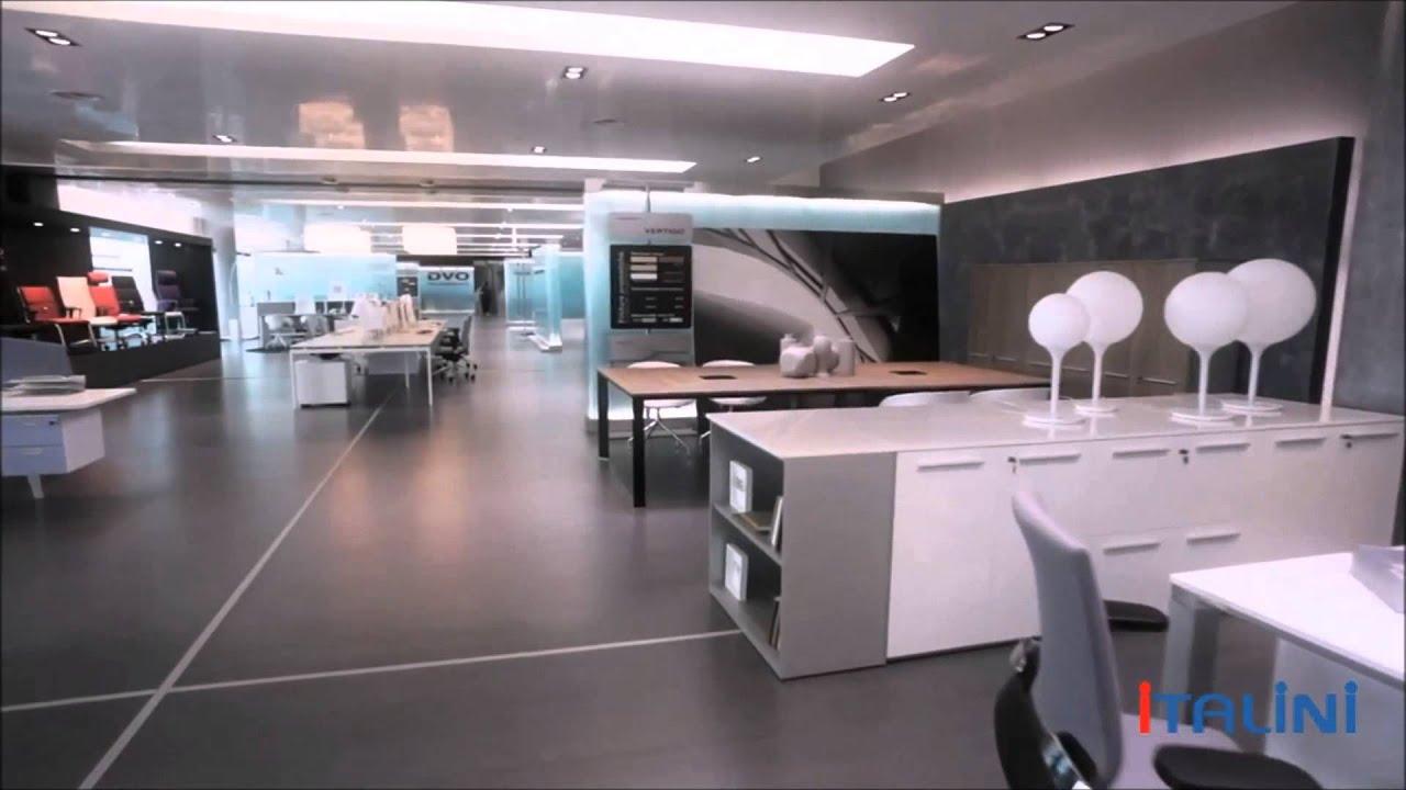 Мебель фабрики Della Valentina Office из Италии - YouTube