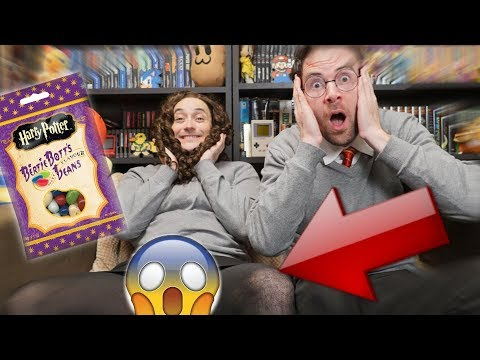 Harry & Hermione: Dégustation en COUPLE de Dragées Surprises ! ft. JDG - Benzaie TV