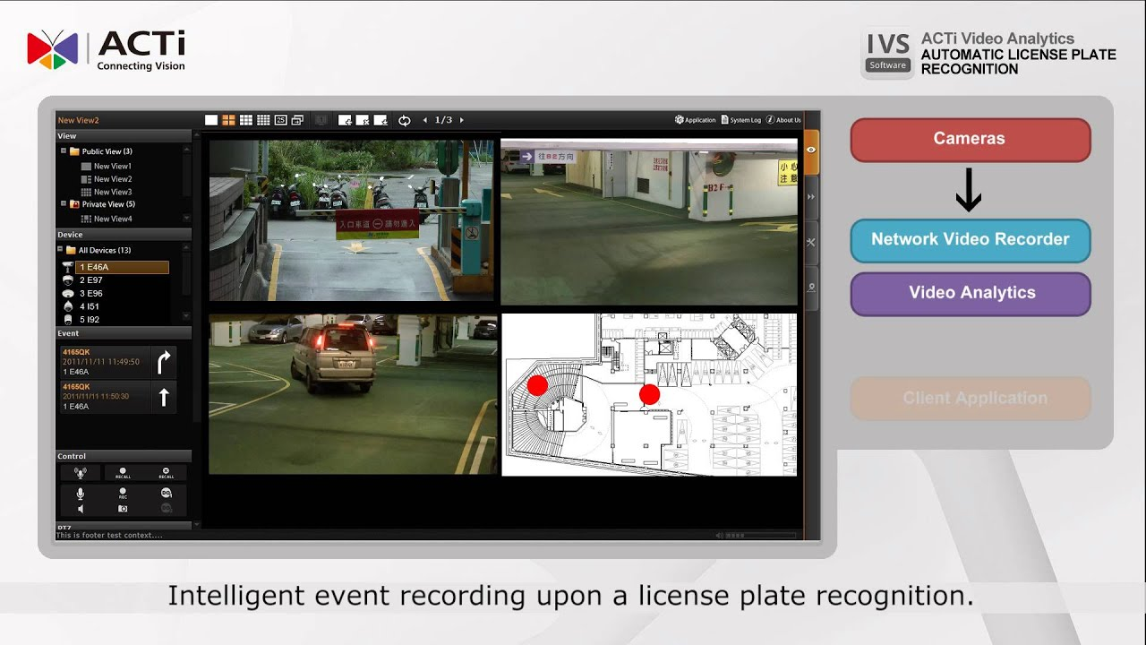 IVS Product Introduction: Automatic License Plate